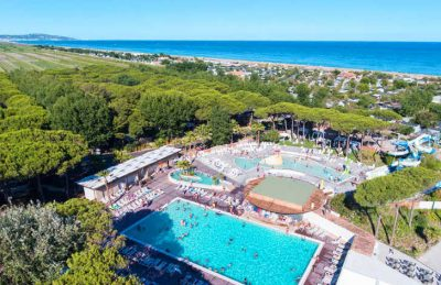 Camping le Castellas Overview