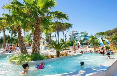 Camping le Castellas Swimming Pool