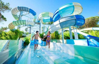 Camping le Castellas Swimming Pool Slides