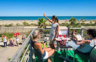 Camping le Castellas Beach Terrace