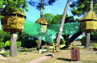 Camping le Moulin de Kermaux Tree Pods