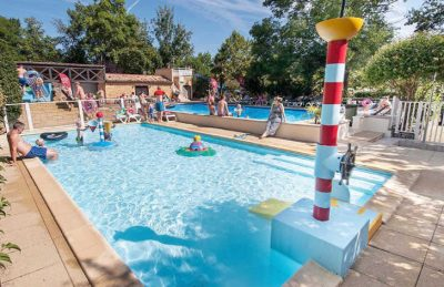 Camping le Moulin de la Pique Pool Area