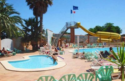 Camping Le Neptune Pool Slides