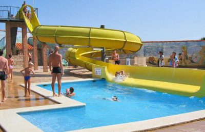 Camping Le Neptune Swimming Pool Slides
