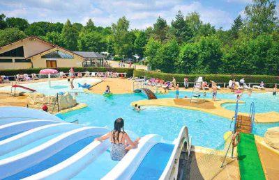 Camping Le Val de Bonnal Pool Water Slides