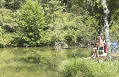 Camping Le Val d'Ussel Fishing Lake