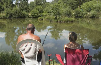Camping Le Val d'Ussel Lake Fishing