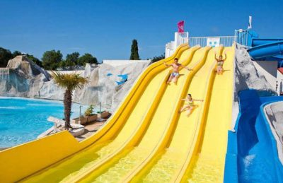 Camping les Charmettes Pool Waterslides
