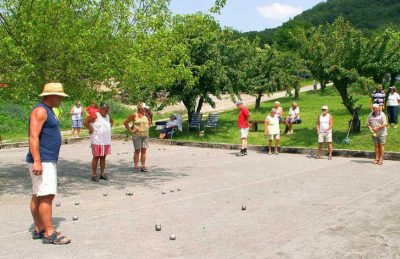 Camping les Charmilles Boules