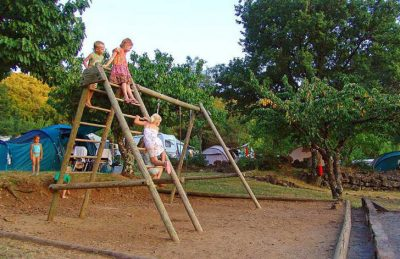 Camping les Charmilles Children's Play Area