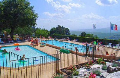 Camping les Charmilles Pool Area