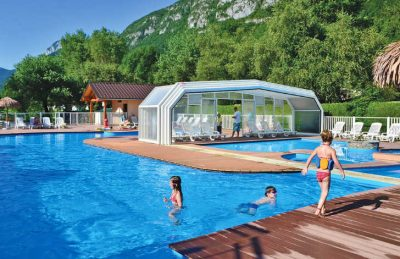 Camping les Fontaines Swimming Pool