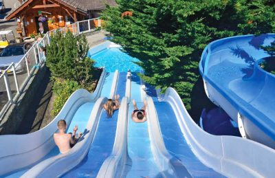 Camping les Fontaines Waterslides