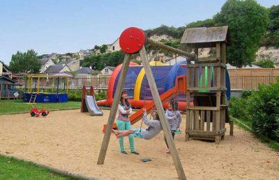 Camping L'Isle Verte Children's Playground