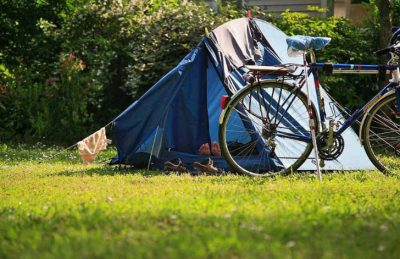 Camping L'Isle Verte Pitch Tent Camping