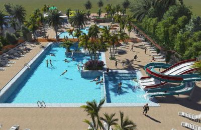 Camping L'Oasis Swimming Pool Complex