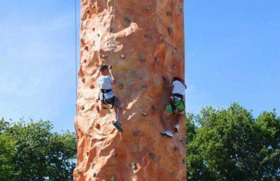 Camping Loyada Climbing Wall