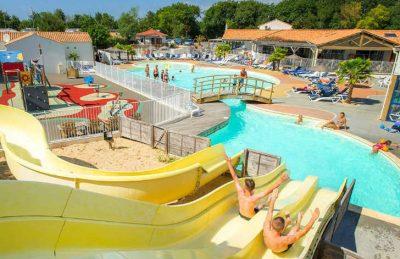 Camping Loyada Swimming Pool Slides