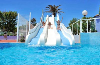 Camping Marisol Swimming Pool Slides Kids