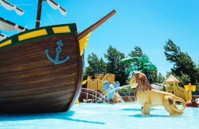 Camping Palmira Beach Pirate Ship