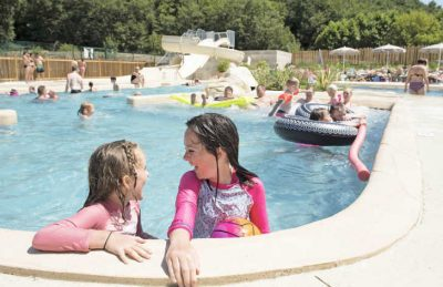 Camping Pomport Beach Children's Pool