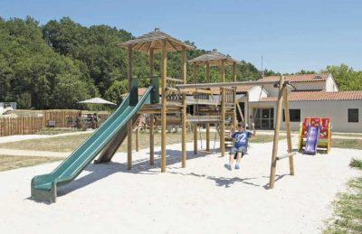 Camping Pomport Beach Children's Playground