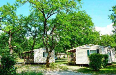 Camping Saint Disdille Accommodation