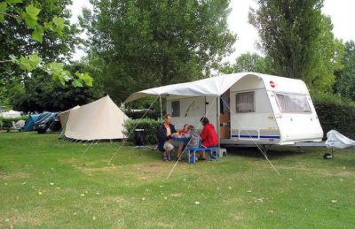 Camping St Michel Caravan Pitch