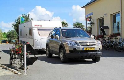 Camping St Michel Pitch Only Caravan Pitch