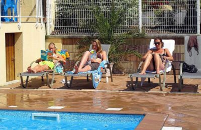 Camping St Michel Pitch Only Poolside