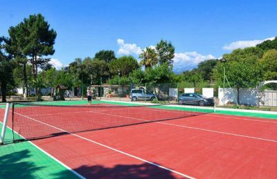 Camping Via Romana Tennis Court
