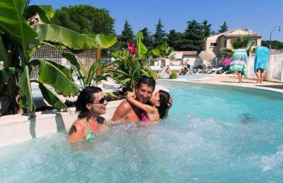 Campsite Bon Port Family Swimming Pool