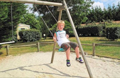 Campsite des Familles Pitch Only Playground
