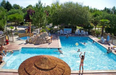 Campsite des Familles Pitch Only Kids Pool