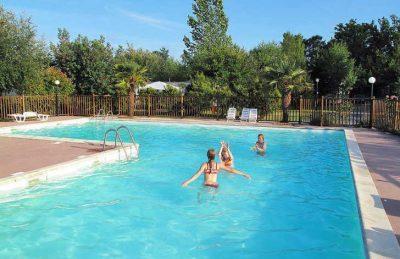 Campsite des Familles Pitch Only Children's Pool