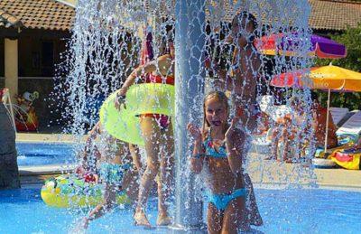 Campsite Domaine le Pommier Children's Water Fun
