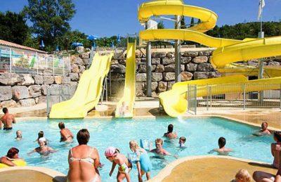 Campsite Domaine le Pommier Pool Fun
