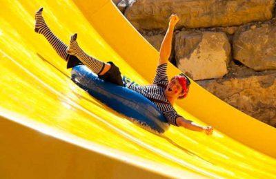 Campsite Domaine le Pommier Slide Fun