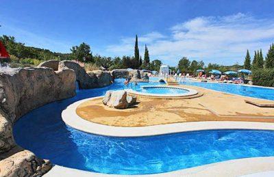 Campsite Domaine le Pommier Swimming Pool Complex