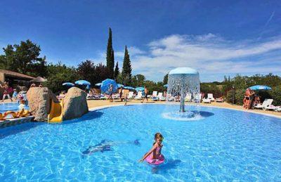Campsite Domaine le Pommier Water Fun