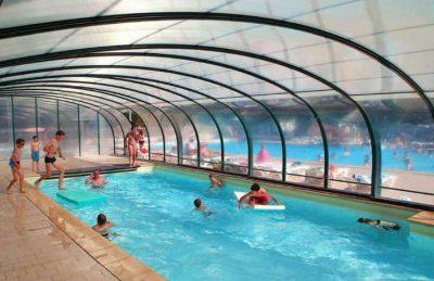 Campsite le Clos Virgile Covered Pool