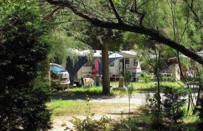 Campsite le Clos Virgile Caravan Pitch