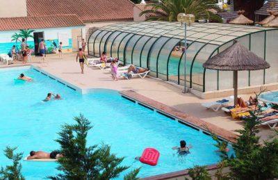 Campsite le Clos Virgile Swimming Pool Complex