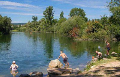 Campsite le Moulin River Fun
