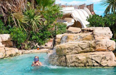 Campsite le Petit Mousse Pool Rocks