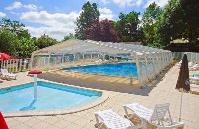 Campsite le Repaire Covered Pool