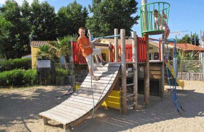 Campsite le Village Corsaire des Deux Plages Playground