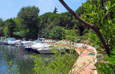 Campsite Les Cigales Pitch Only Mooring