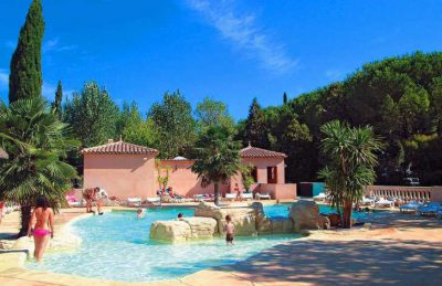 Camping Les Cigales Pool