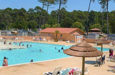 Campsite les Oyats Pool Area